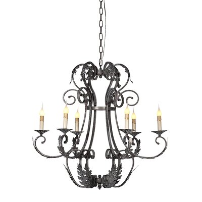 Florance 6-Light Candle-Style Chandelier