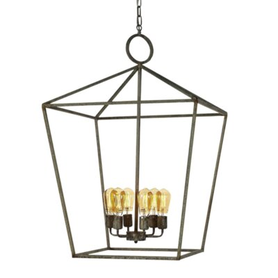 Vegas 6-Light Lantern Pendant