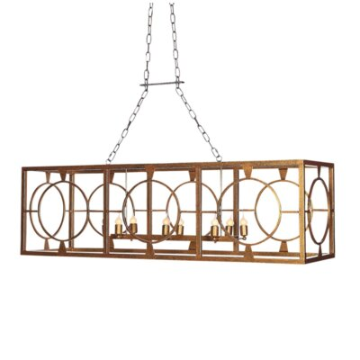 Hampshire 8-Light Light Kitchen Island Pendant
