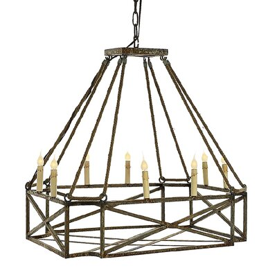 Carter 8-Light Kitchen Island Pendant