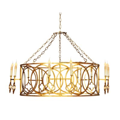 French Quarter 10-Light Kitchen Island Pendant