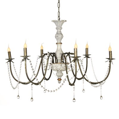 Napoleon 6-Light Candle-Style Chandelier