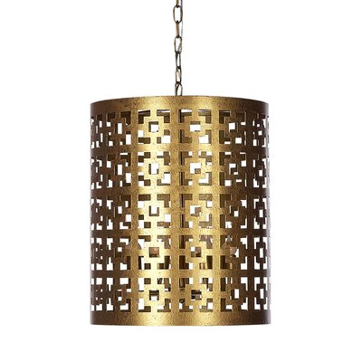 Fifth Square 6-Light Drum pendant