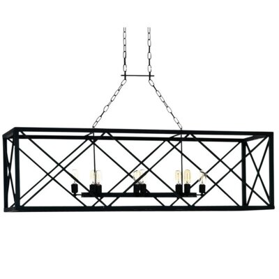 Hampton 8-Light Kitchen Island Pendant