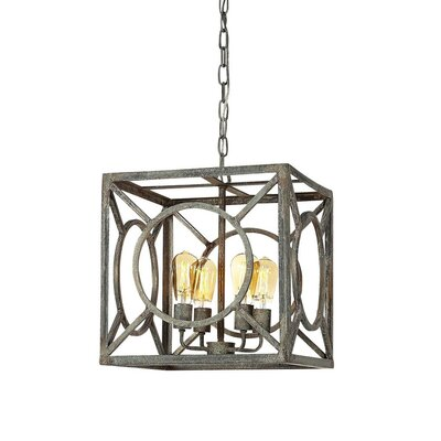 Ashleys 4-Light Lantern Pendant