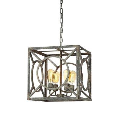Ashleys 4-Light Lantern Pendant