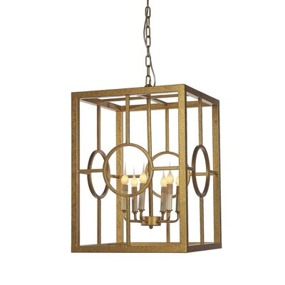Hampton 4-Light Lantern Pendant