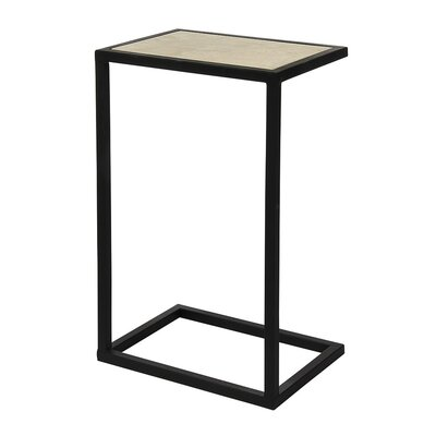 Vegas End Table Table Base Color: Deep Ocean