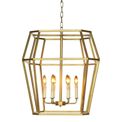 Paris 6-Light Lantern Pandent Finish: Deep Ocean