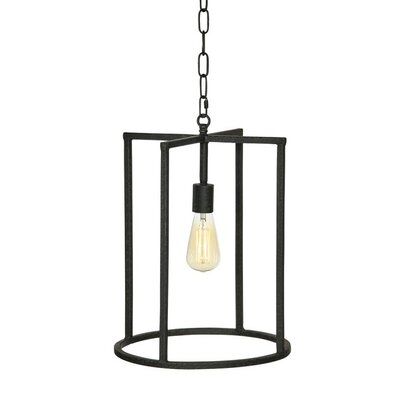 Nevada 1-Light Mini Pendant Finish: Rustic Brown
