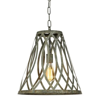 New Orleans 1-Light Mini Pendant Finish: Rustic Brown