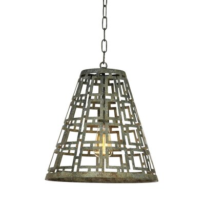 Fifth 1-Light Mini Pendant Finish: Distressed Gray