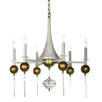 Savannah 6-Light Candle-Style Chandelier