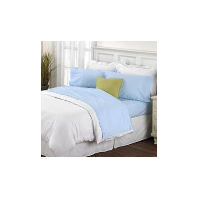 Melvin Softest American Classic Sheet Set Color: Light Blue, Size: King