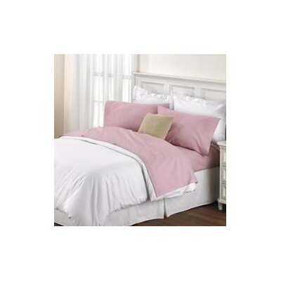 Melvin Softest American Classic Sheet Set Size: King, Color: Rose