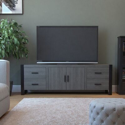 Soriano 71 TV Stand Color: Ash Gray