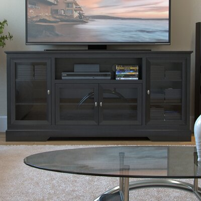 Jeppesen Highboy Style Wooden 70 TV Stand