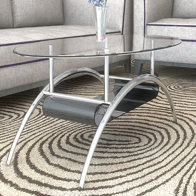 Heflin Glass Coffee Table