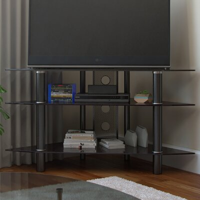 Nika 44 TV Stand Color: Black