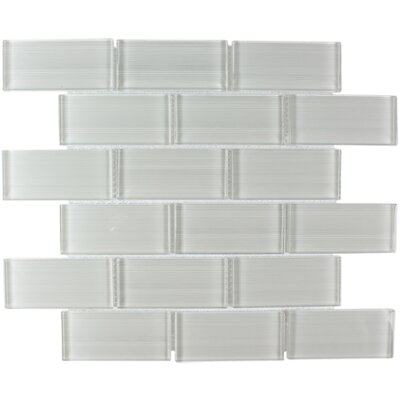 Myriad Glass Subway Tile in Myriad Heather
