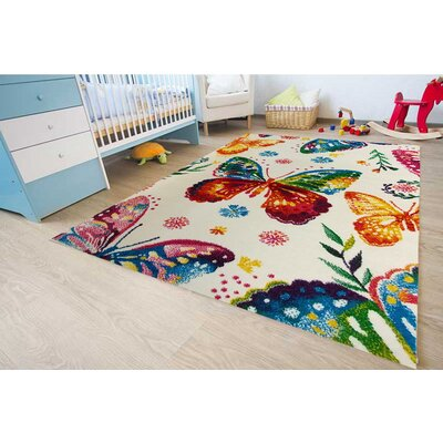 Andy Bedroom Decor Rainbow Area Rug Rug Size: 311 x 53