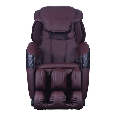 Massage Chair Upholstery: Brown