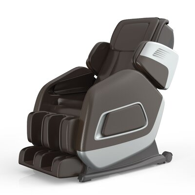 Aria Massage Chair Upholstery: Brown