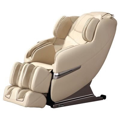 Faux Leather Massage Chair Upholstery: Cream