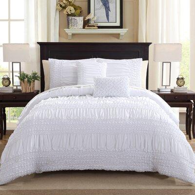 Reseda 5 Piece Comforter Set Size: King