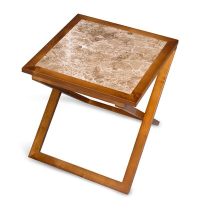 Union Craft Marron Light End Table