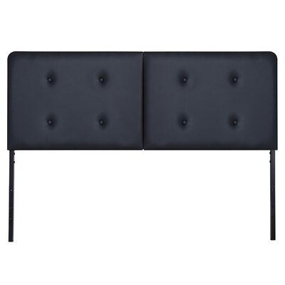 Bevill Upholstered Panel Headboard Size: King