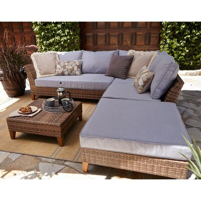 Burch 5 Piece Seating Group with Cushion