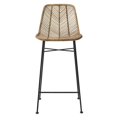 Emile 28 Bar Stool Finish: Natural