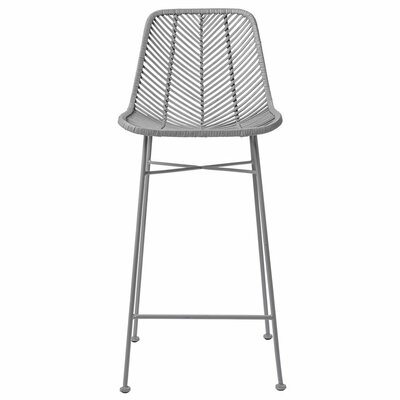 Emile 28 Bar Stool Finish: Gray