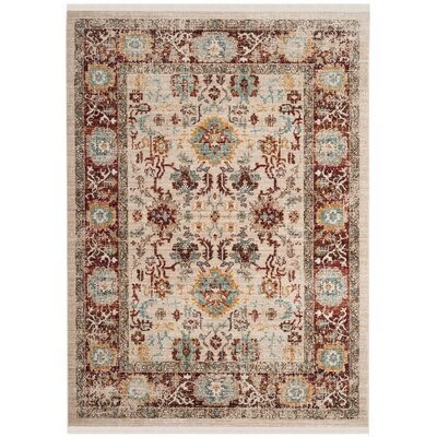 Mellie Beige Area Rug Rug Size: Rectangle 9 x 13