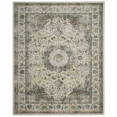 Elson Gray/Gold Area Rug Rug Size: Rectangle 8 x 10