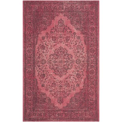 Kymmi Fuchsia Area Rug Rug Size: Rectangle 5 x 8
