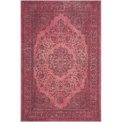 Kymmi Fuchsia Area Rug Rug Size: Rectangle 4 x 6
