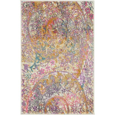 Charlena Abstract Area Rug Rug Size: Rectangle 2 x 3
