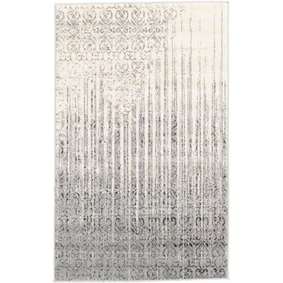 Deniece Gray Area Rug Rug Size: Rectangle 33 x 53