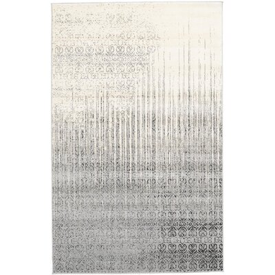Deniece Gray Area Rug Rug Size: Rectangle 5 x 8