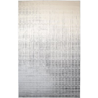 Deniece Gray Area Rug Rug Size: Rectangle 10 x 16