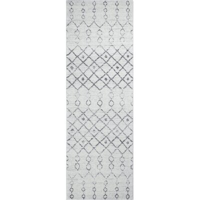 Chase Ivory Area Rug Rug Size: Runner 26 x 8