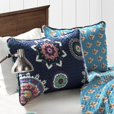 Odele Cotton 3 Piece Reversible Quilt Set E36167C47851416DA65C32B630CF9B2D