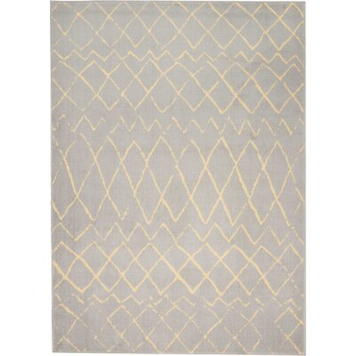 Petit Borendy Gray Indoor Area Rug Rug Size: Rectangle 53 x 73
