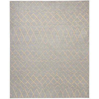 Petit Borendy Gray Indoor Area Rug Rug Size: Rectangle 710 x 910
