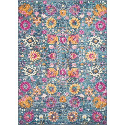 Parsons Denim Indoor Area Rug Rug Size: Rectangle 39 x 59