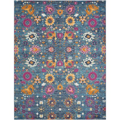 Parsons Denim Indoor Area Rug Rug Size: Rectangle 67 x 96