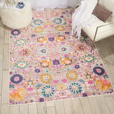 Parsons Silver Indoor Area Rug Rug Size: Rectangle 8' x 10'