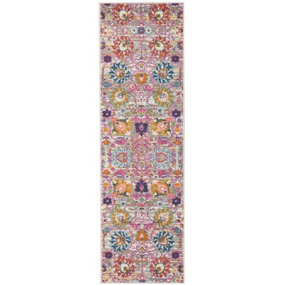 Parsons Silver Indoor Area Rug Rug Size: Runner 11 x 6